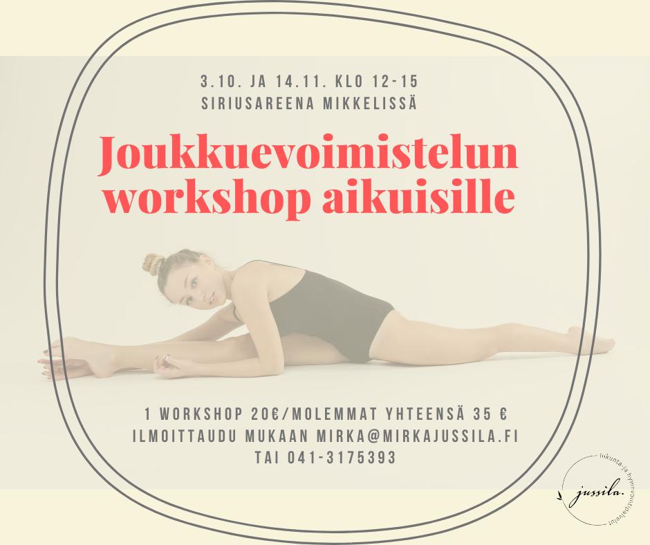 JV-workshop